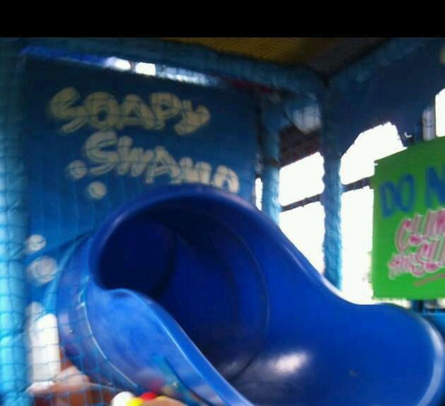 Commercial Tube Slide Soft Play Equipment