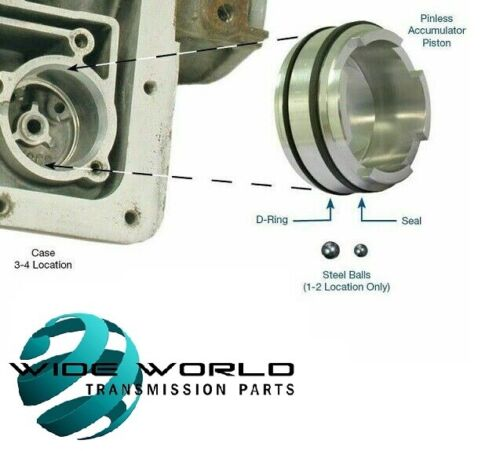 """Sonnax 77998-03K Transmission Kit, 1-2 or 3-4 Accumulator Piston .310"""" Pin *"""