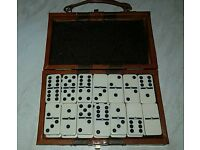 Vintage Dominos set with carry case