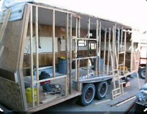 Trailer removal and clean-up