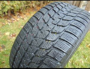 Set of FOUR ALMOST NEW 17 inch Winter Tires (less than 1500km)