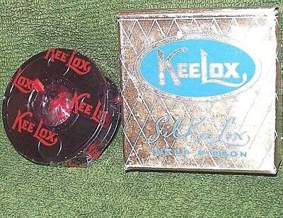 Keelox Silkeelox Typewriter Ribbon Mint In Box Never Used