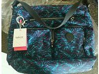 kipling Tasmo shoulder bag with kipling matching colour umbrella, both NEW WITH TAGS