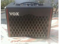 VOX VX1 Modelling combo amplifier 15 watts. Small & easily portable in excellent condition