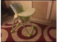 Chicco Polly 2 in 1 High chair 6months - 3 years . In brand new condition with box and packaging.