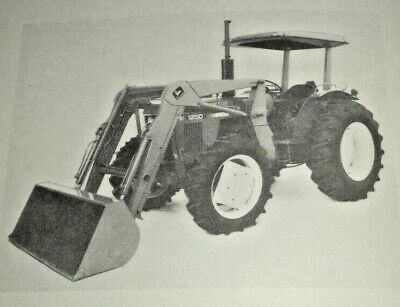 John Deere 100 Farm Loader Operators Owners Manual Fits 1250 Tractors Jd K1