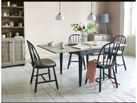 Loaf toaster flip top extending dining table rrp £775