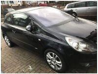 Vauxhall Corsa D 1.3 cdti Breaking For Spares parts black sxi 06 07 08 09 10 black bonnet bumper