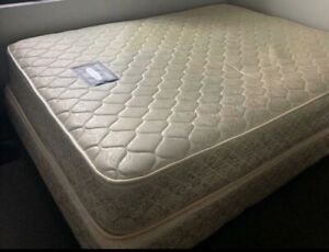 Excellent condition queen bed and mattress - free delivery