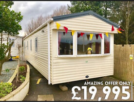 Static caravan for sale first to see will buy Payment options available 12 month season 4*park