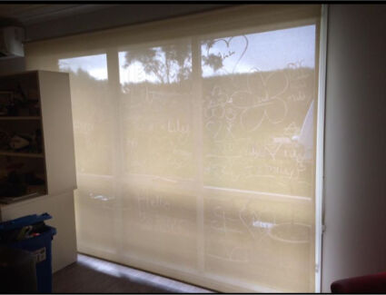 Roller Blinds x 5 sets inc Sheer & Block Out Blind | Curtains ...