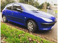 Peugeot 206 AUTOMATIC 9Month Mot very good runner