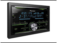 Pioneer Double din Bluetooth car stereo