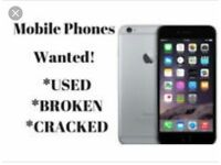 used broken cracked iPhones wanted for cash collect from anywhere in Bristol