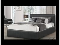 BRAND NEW RADO LEATHER BED + FREE MATTRESS + FREE DELIVERY