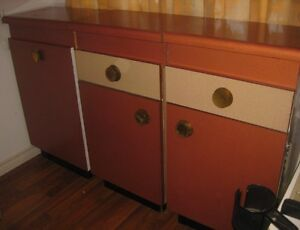 Three Fabulous Vintage kitchen Cabinets