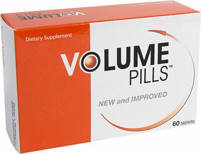 Volume Pills Massive Loads of Cum - Semen Volume Enhancer - 60 Tabs - 1mo Supply Enhancer 60 Tabs