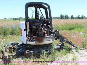 Pay cash for your wrecked, burnt or worn out Mini Excavator