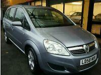 Vauxhall zafira 1.6 petrol 12 mot 7SEATER ICARS