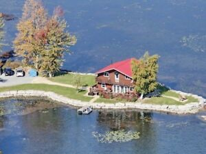 Unique Year Round Waterfront  Property  on Loughborough Lake