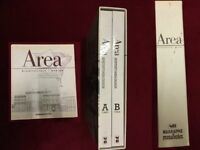 Area - Architectural Design Two volumes