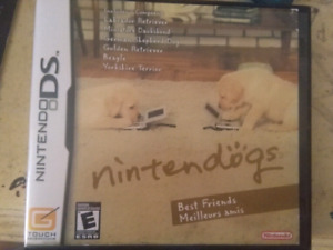Nintendogs Best Friends Game and Case- Gently Used