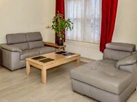 Corner leather sofa for sale