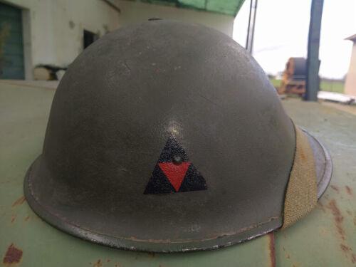 WW2 Original British MkIII helmet .