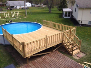 fence and deck tiling