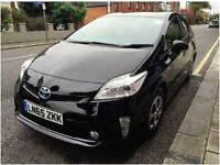 TOYOTA PRIUS PCO 65 REG (BLACK COLOR) £125 PER WEEK