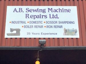 Industrial & Domestic Sewing Machine & Serger Tune up and Repair
