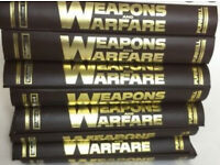 Weapons and Warfare- Complete 8 volumes bound ,128 magazines in total.Very good condition