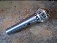 Shure Prolog 12h hi z dynamic microphone with lead