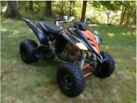 YAMAHA RAPTOR 350 * BREAKING ALL PARTS *** 07835260261***