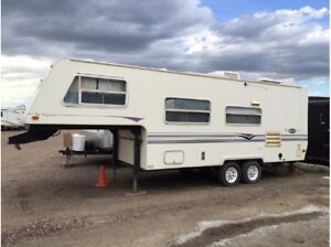 1997 aero 25ft fifth wheel camper