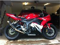 Selling Yamaha YZF R6 2005 for parts and spares