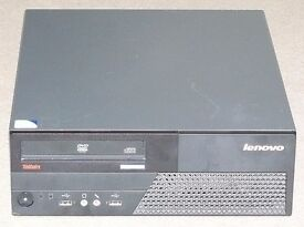 Lenovo Thinkcentre M58 Pentium dual-core computer, base-unit only, custom built, very fast.