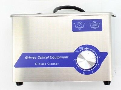 Goe Compact Ultrasonic Eyeglassjewelrydental Cleaner 415c New Free Shipping