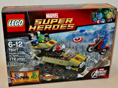 76017 CAPTAIN AMERICA VS HYDRA lego set NEW marvel super heroes RED SKULL