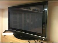 LG 60.9 inch Plasma Widescreen HD ready 100Hz Pristine Condition