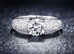 ENGAGEMENT RING OR PROMISE RING SIZE 7.5