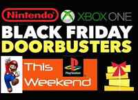 ★★BLACK FRIDAY VIDEOGAME SALE ★★- ENTIRE STORE, RIGHT NOW !!