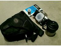 Minolta Dynax 4 SLR Camera and Lense