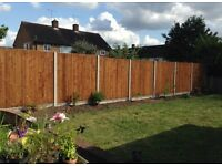 Quality fencing services available and fence repairs