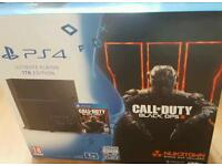 Ps4 1TB COD Bundle. Brand new sealed. (Ps3, xbox, Nintendo, game)