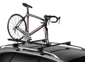 Thule Crossroad Mounts with 2 Prologue Fork Mount Bike Carriers