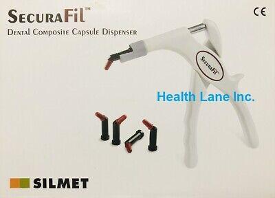 Silmet Dental Securafil Composite Compule Capsule Unidose Dispenser Gun 199971