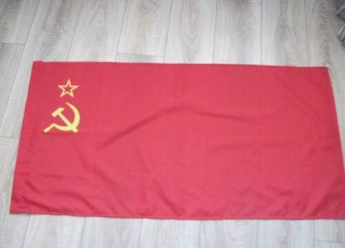 Vintage USSR Flag Original Soviet Union Banner Large Size