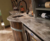 Professional Corian Solid Surface Installation