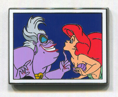 ARIEL & URSULA - 2017 Disney Films Mystery Limited Disney Pin - Little Mermaid